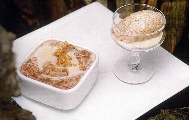 Receta: Leche con sopas y helado de pan de centeno
