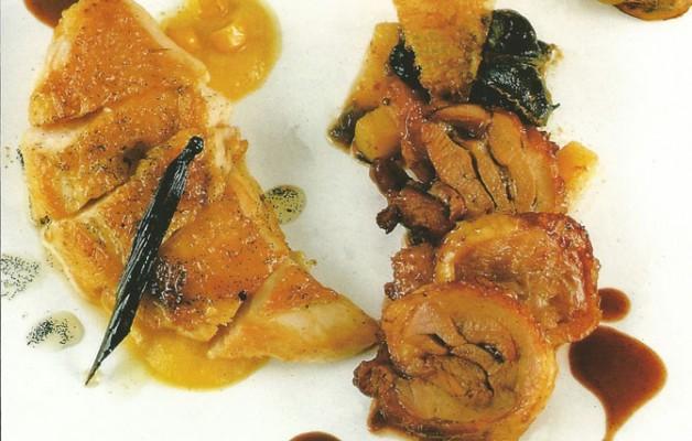Receta: Pollo de caserío guisado al vino tinto