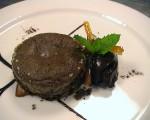 Receta: Soufflé de chocolate con sorbete de cacao amargo