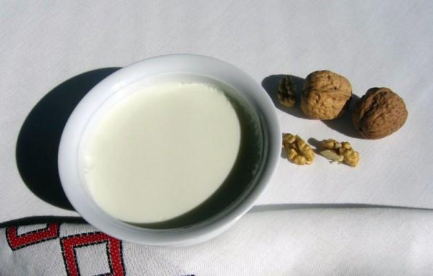 Receta: Cuajada de leche de oveja