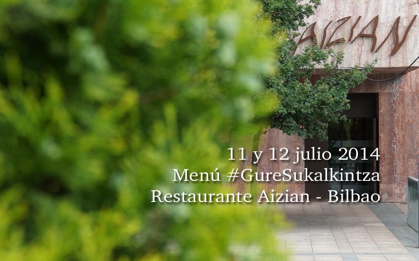 Menu Gure Sukalkintza en Aizian