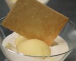 Receta: Sorbete de naranja, crema de vainilla y Grand Marnier