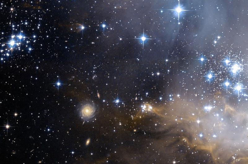 cena astronómica cielo