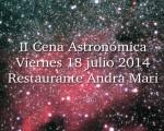 Noticia: Nueva Cena Astronómica en Andra Mari