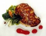 Receta: Ensalada templada de verduras con foie