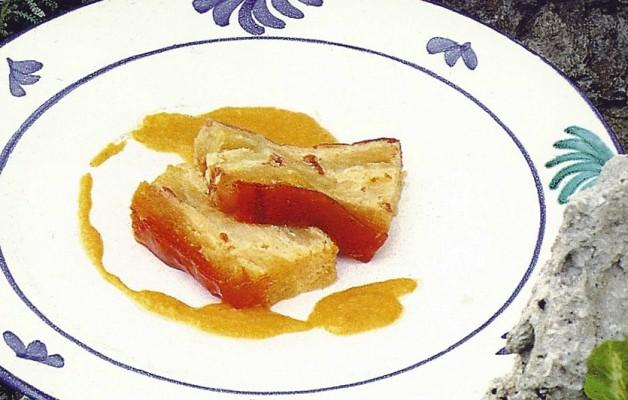 Receta: Puding de manzana reineta