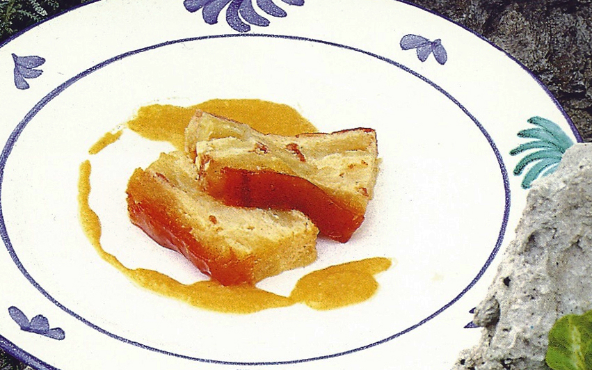 puding de manzana reineta