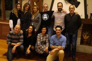 Los invitados a la gastroexperiencia de Gure Sukalkintza