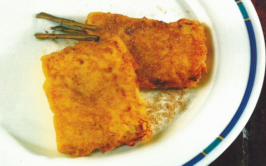 receta tostada de crema