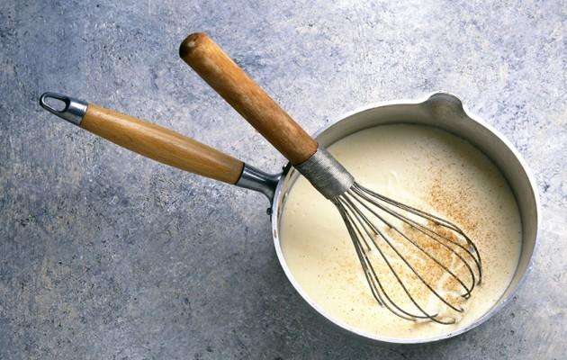 Truco: Cómo hacer salsa bechamel