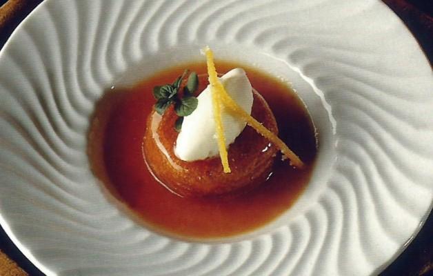 Receta: Borracho en sopa de zanahoria y helado de limón