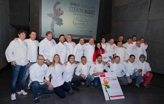 Noticia: Sanfilippo Cooking Night, gastronomía solidaria