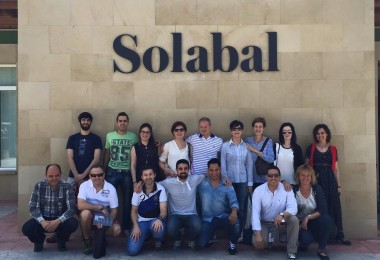 Noticia: Visita a Bodega Solabal