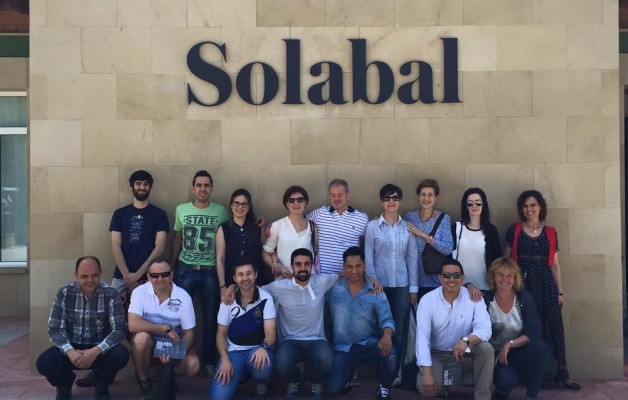 Noticia: Visita a Bodega Solabal