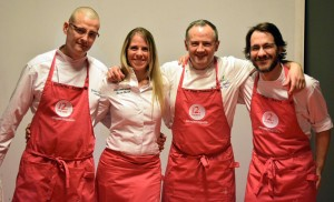 3 cocineros andramari aizian aretxondo los fueros