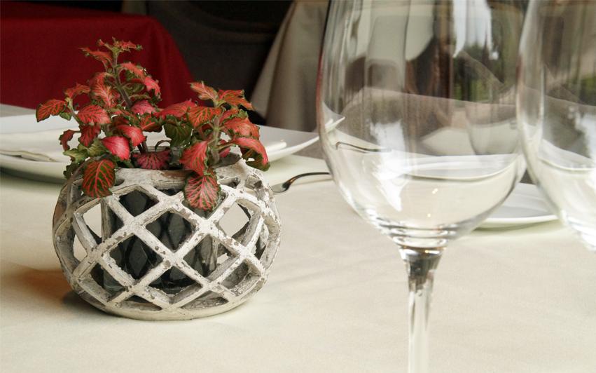 mesa restaurante Aizian