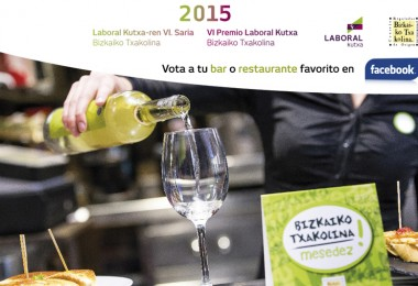 Noticia: Nominados para los VI Premios Laboral Kutxa Bizkaiko Txakolina