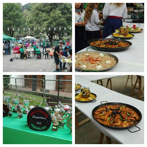 concurso paellas fiestas galdakao 2015