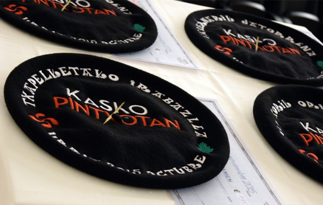 Noticia: Andra Mari y Aizian en el jurado de Kasko pintxotan