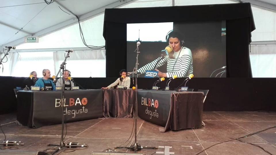 Zuriñe García en Bilbao Degusta