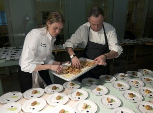 chefs aizian y andra mari en finlandia cena
