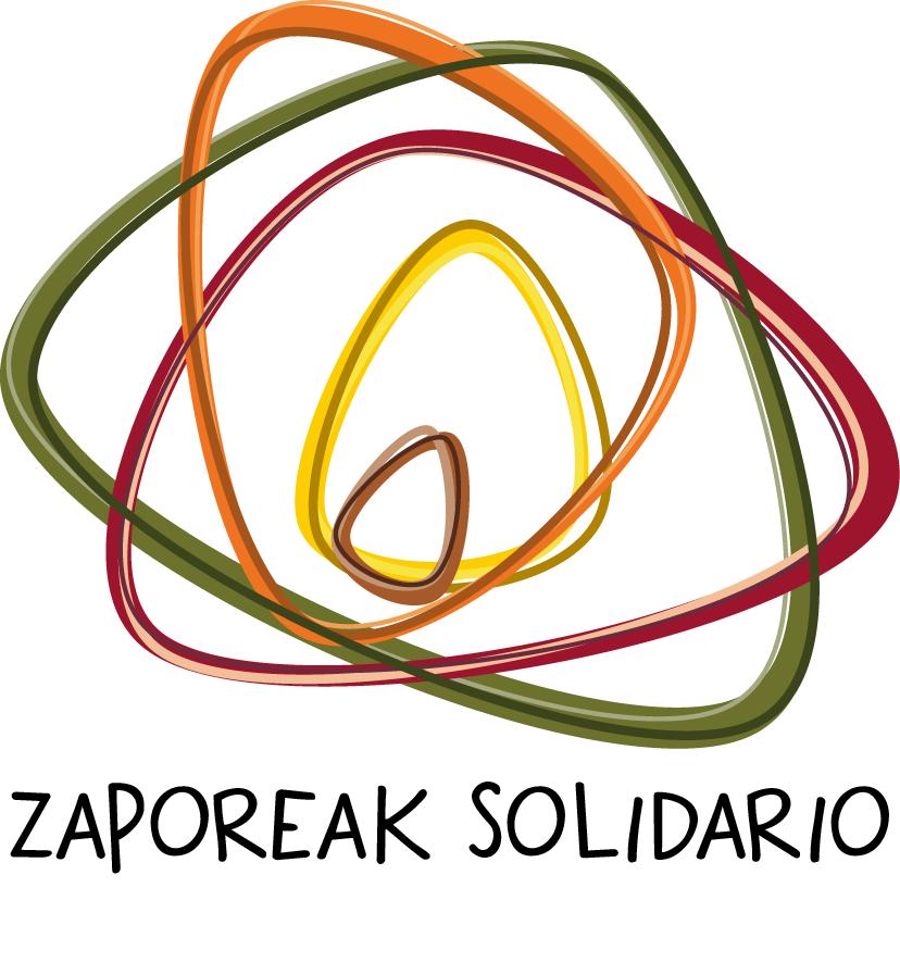 logotipo zaporeak solidario