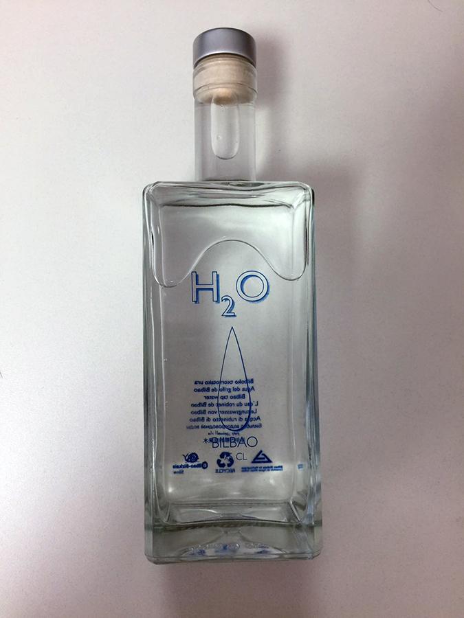 botella presentacion h2O