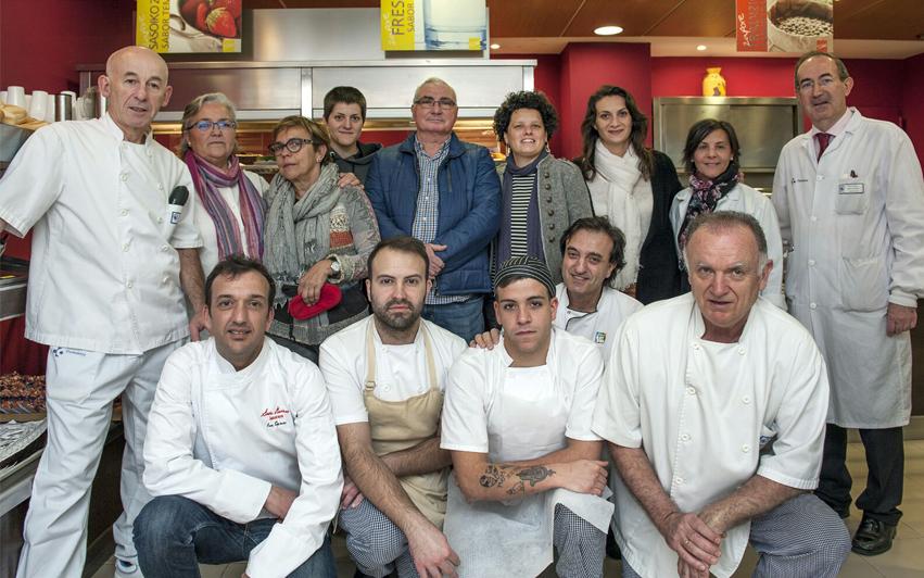 jurado Concurso de Reposteria Casera Bilbao