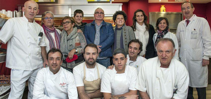 Ion Gómez jurado en el XI Concurso de Repostería Casera de Bilbao