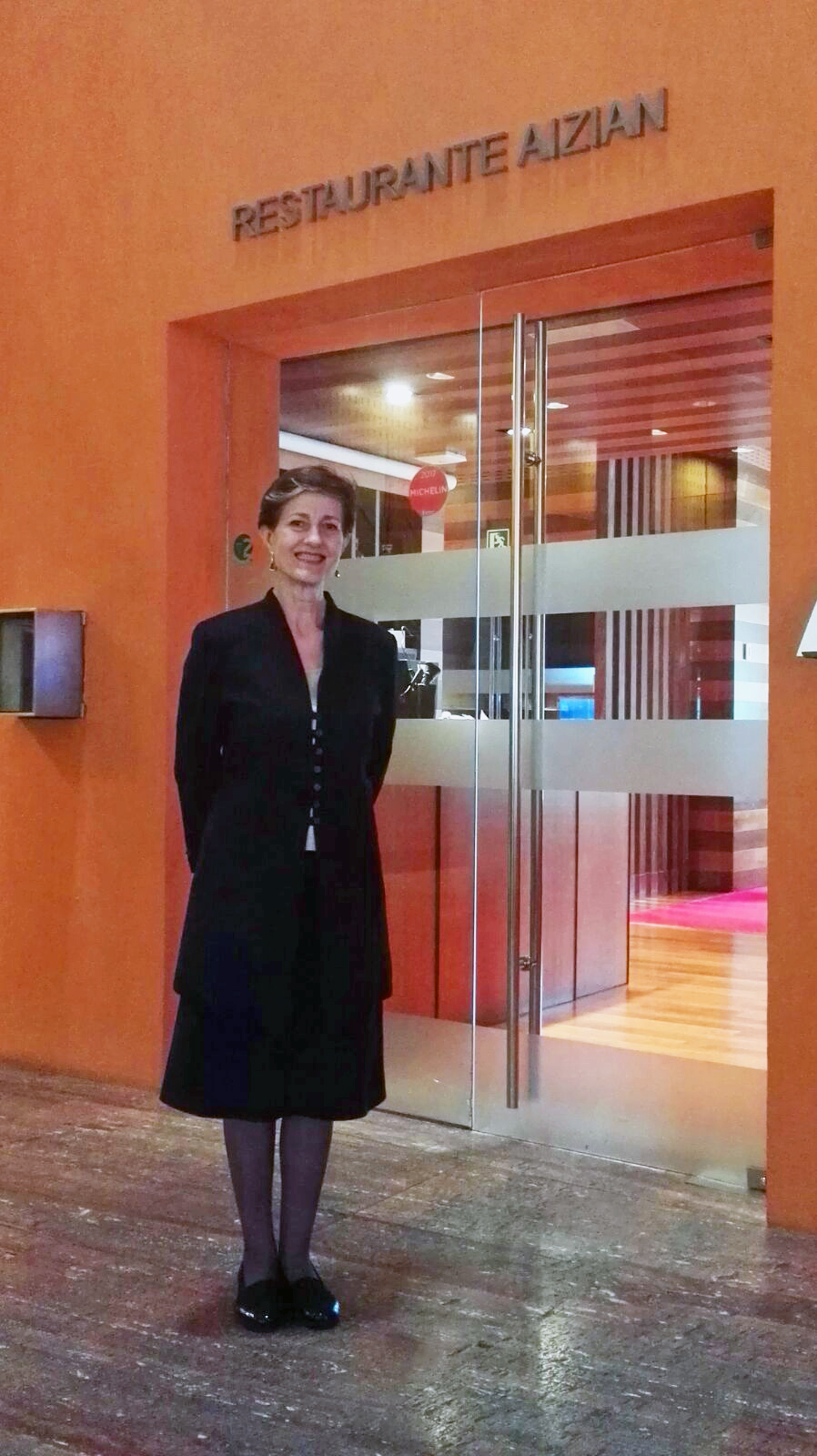 Begoña Tejerina Premio Euskadi Gastronomia Mejor Directora Sala