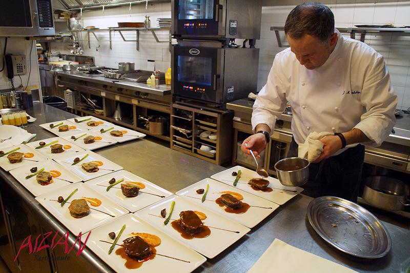 Josemi Olazabalaga Jefe cocina Aizian