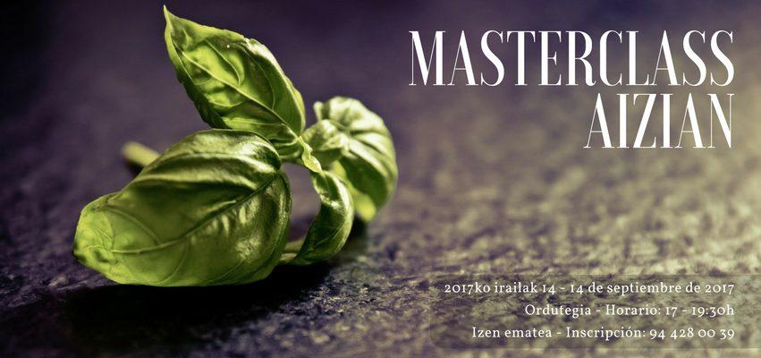 Nueva masterclass en Aizian