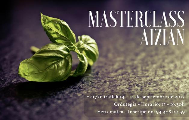 Noticia: Nueva masterclass en Aizian