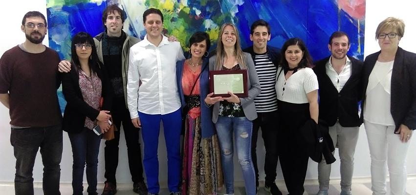 Zuriñe García de Andra Mari Premio a la Mejor Restauradora