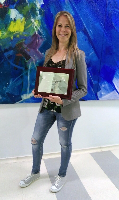 Zuriñe García Premio Euskadi Mejor Restauradora