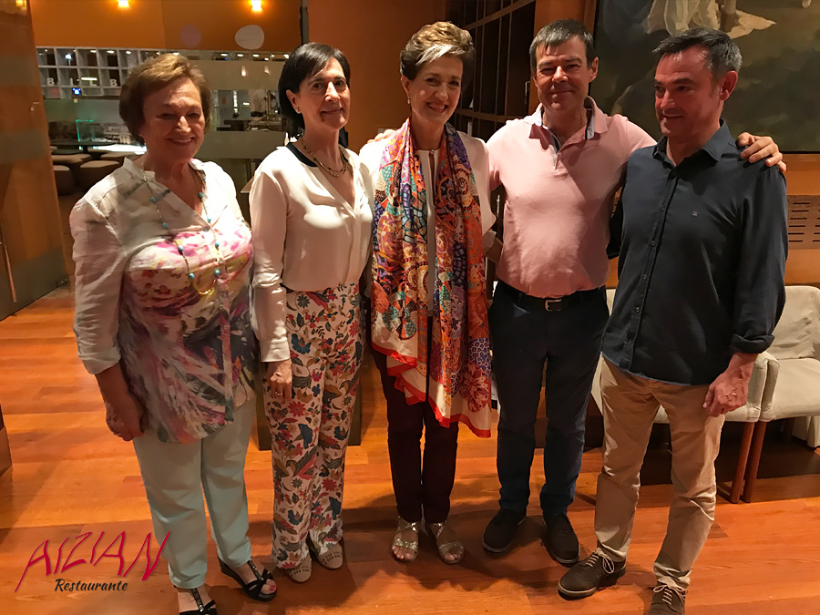 COCTEL DESPEDIDA BEGOÑA TEJERINA FAMILIA ASUA