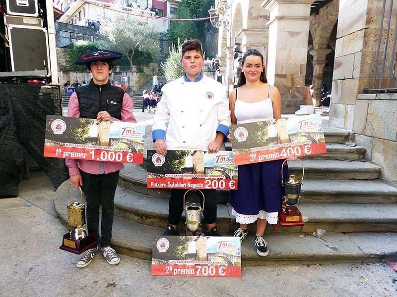 Foto Deia Concurso putxeras Balmaseda Ganadores
