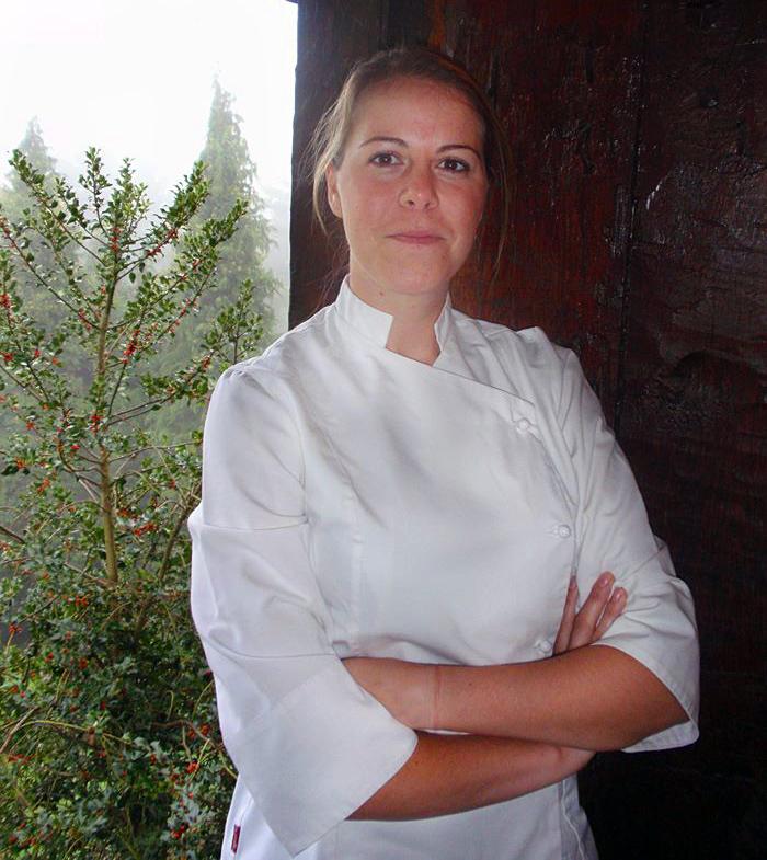 Zuriñe García Andra Mari Jefa de Cocina