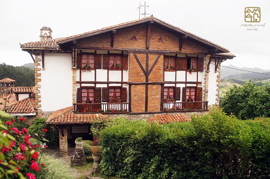 restaurante Andra Mari Galdakao fachada