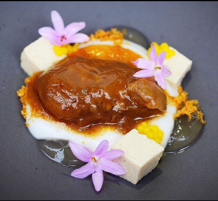 Castañuela ibérica, coco y yuzu Aretxondo