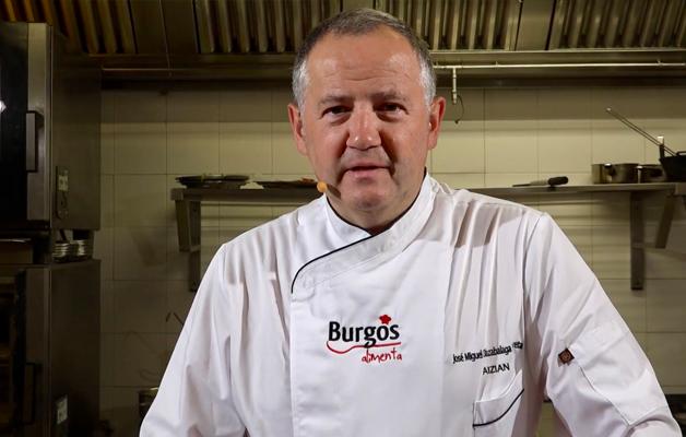 Burgos Alimenta Josemi Olazabalaga restaurante Aizian