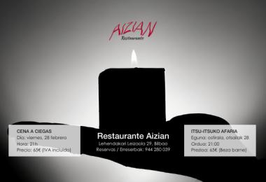 Noticia: Nueva Cena a Ciegas en Aizian