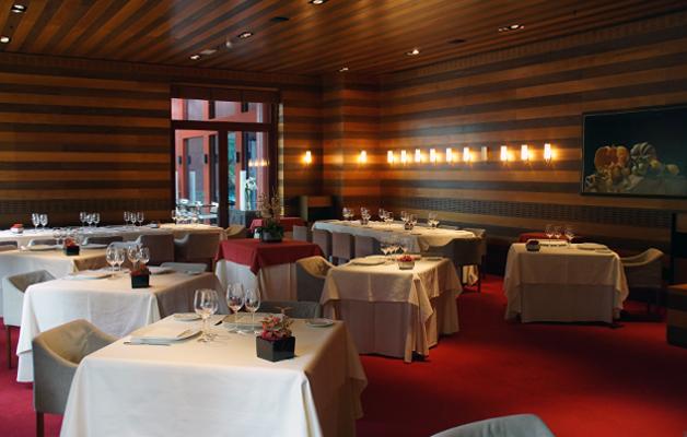 restaurante aizian bilbao comedor