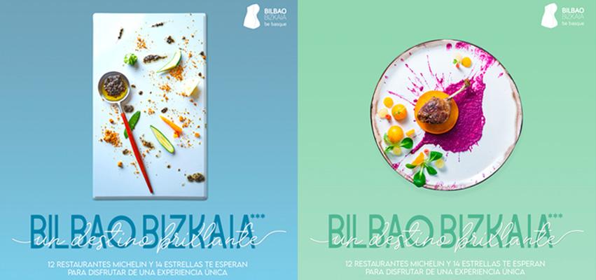 Andra Mari en la campaña Bilbao Bizkaia